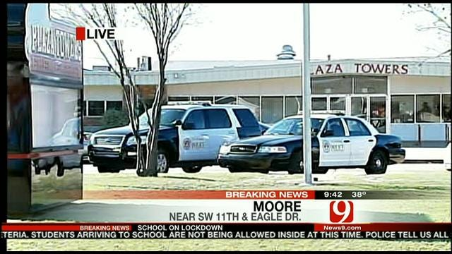 Loaded Gun At Plaza Elementary School In Moore Leads To Lockdown
