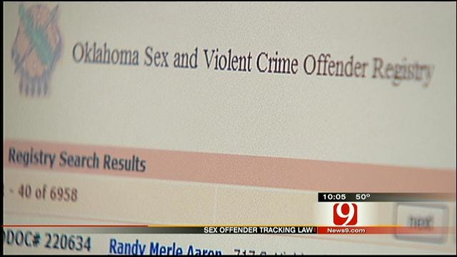 Oklahoma May Lose Federal Funds For Not Complying With Sex Offender Law