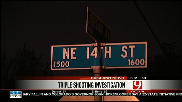 Triple Shooting In Northeast OKC Sends Three Men To Hospital