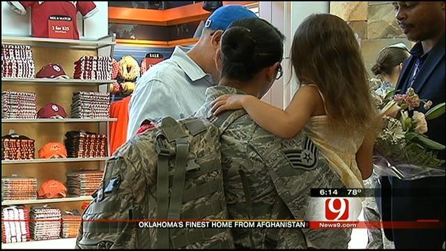 Thirteen Oklahoma Airmen Return Home Wednesday