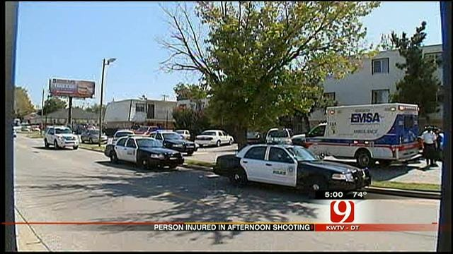 Police Search For Suspect In Northwest OKC Shooting