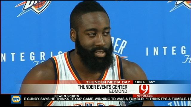 Harden Confident He Will Stay In OKC
