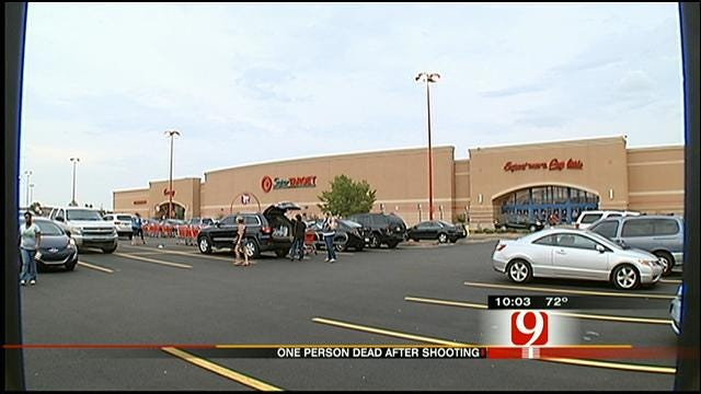 One Dead, One In Custody After Shooting At Target In NW OKC