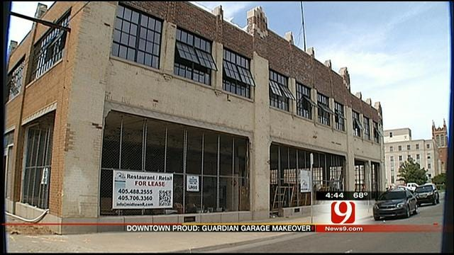 OKC Downtown Renaissance Continues With Renovation Of Guardian Garage
