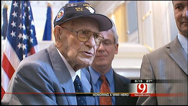 Oklahoma WWII Vet Receives France's Highest Honor