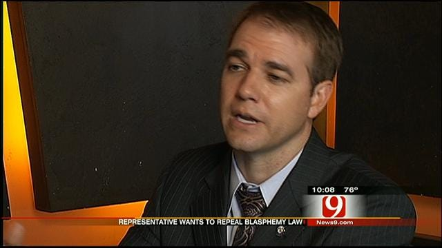 Oklahoma Lawmaker Wants To Repeal Blasphemy Law