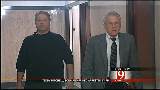FBI Agents Arrest Teddy Mitchell, Two Sons, Family Friend