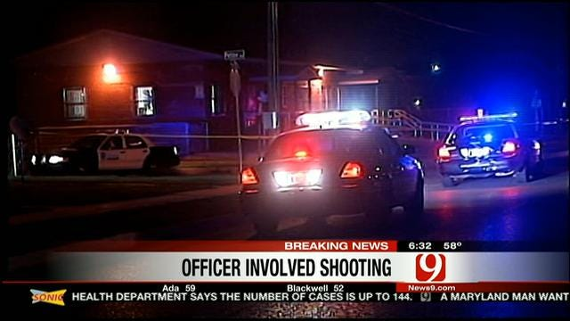 14-Year-Old Boy Accused Of Shooting At OKC Police Officer