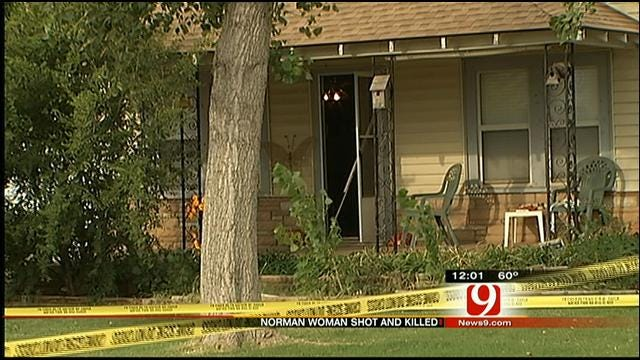 Woman Shot To Death In Norman Home