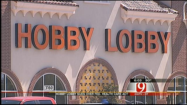Oklahoma Hobby Lobby Files Suit Against Government Over Health Care Act