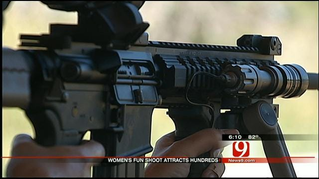 Women's Fun Shoot Growing Into Largest Of Its Kind