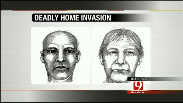 OKC Police Release Sketches Of Suspects In Fatal Home Invasion