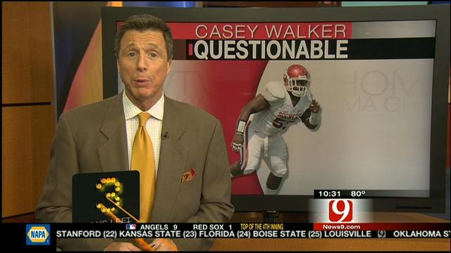Casey Walker Questionable For Saturday