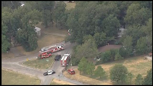 Crews Responding To House Fire In SW OKC