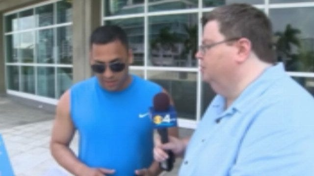 CBS 4 News In Miami Quizzes South Floridians About Oklahoma