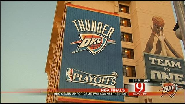 Thunder Excitement Builds For Game Two In OKC