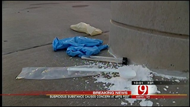 Powdery Substance Causes Scare At OKC Arts Fest