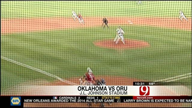 Highlights: OU Baseball Tops Oral Roberts