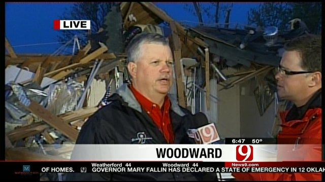 Stormtracker Marty Logan Talks About Tracking Tornado In Woodward
