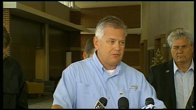 Gov. Fallin, Woodward City Officials Host Press Conference, Pt. 2