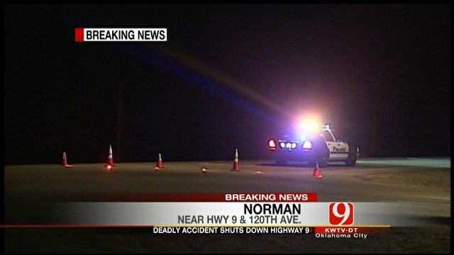 Fatal Collision Shuts Down Highway In Norman