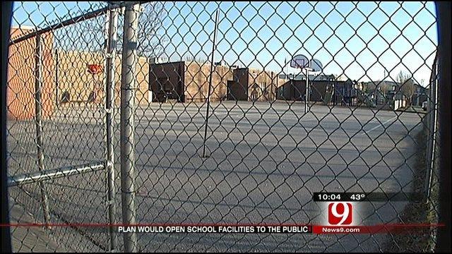 Governor Fallin Proposes Plan To Open School Exercise Facilities To The Public