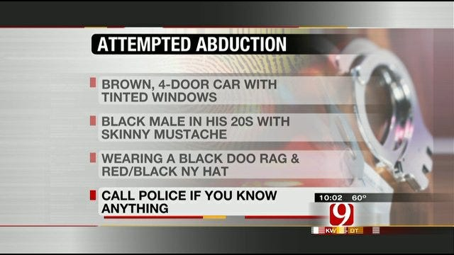 Attempted Abduction Thwarted In South Oklahoma City