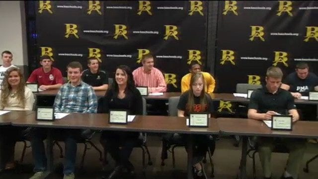 Broken Arrow Holds Signing Day Ceremony