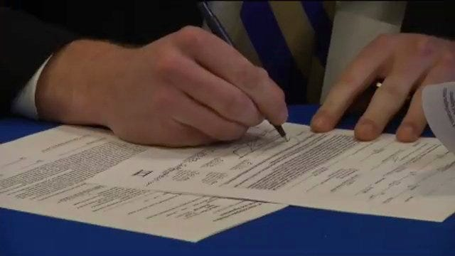 Conner Sherwood Signs With Tulsa