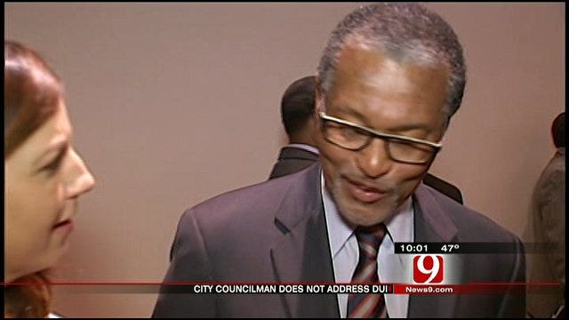 OKC Councilman Refuses To Address His DUI Arrest At Community Meeting