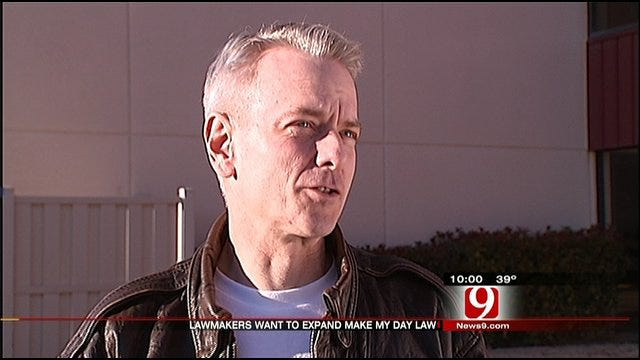 Expanded 'Make My Day' Law Eyed By Legislator