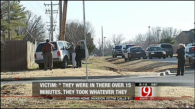 Police Release 911 Call Made After Edmond Home Invasion