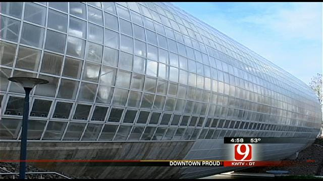 Downtown Proud: Crystal Bridge Is An Icon Of Oklahoma City