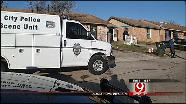 Suspect Dies In Midwest City Home Invasion