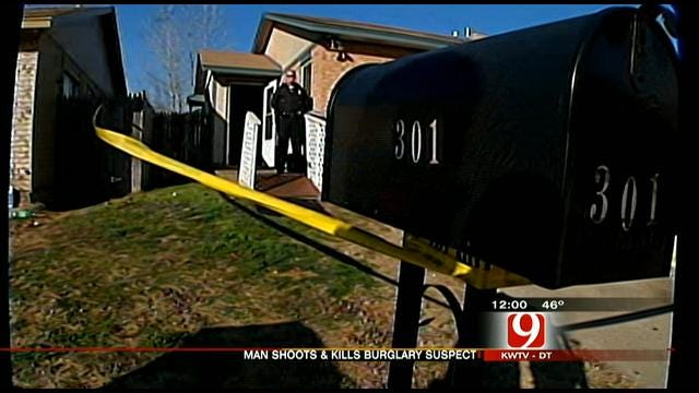 Midwest City Homeowner Shoots, Kills Burglary Suspect