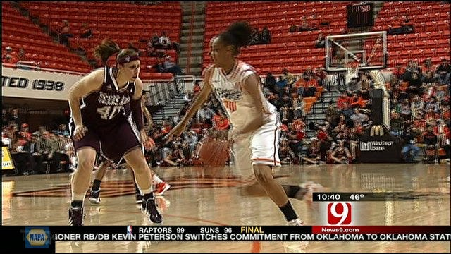 Cowgirls Top Aggies Highlights
