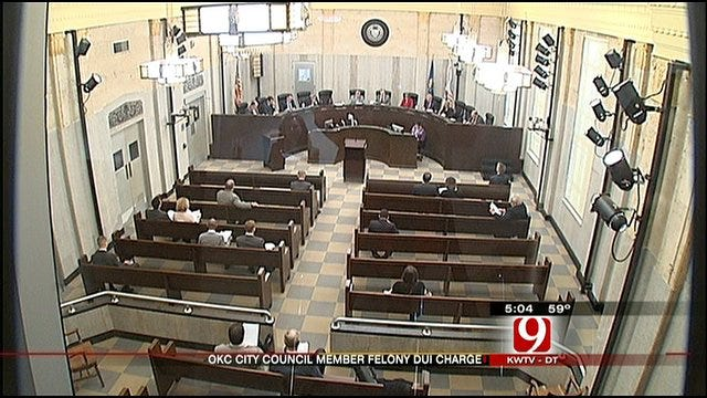 OKC Councilman Skip Kelly A No-Show At Tuesday's Meeting