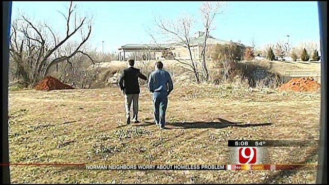 Residents Say Homeless People May Have Started Fire In Norman