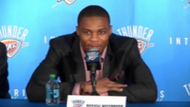 Westbrook, Brooks, Presti Press Conference