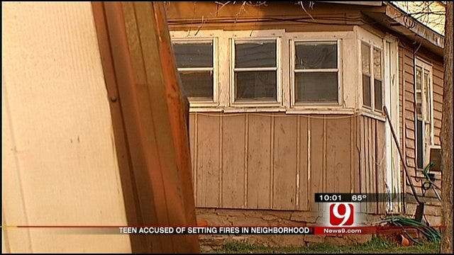 Guthrie Teen Allegedly Set Neighbor's Shed, Grandma's Home On Fire