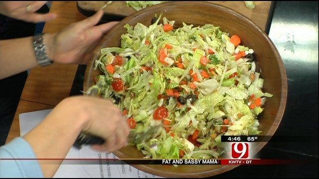Fat And Sassy Mama Makes Miami Chopped Salad