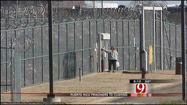 Puerto Rican Inmates Coming To Cushing Prison