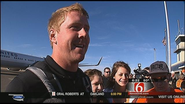 Weeden On Returning Home