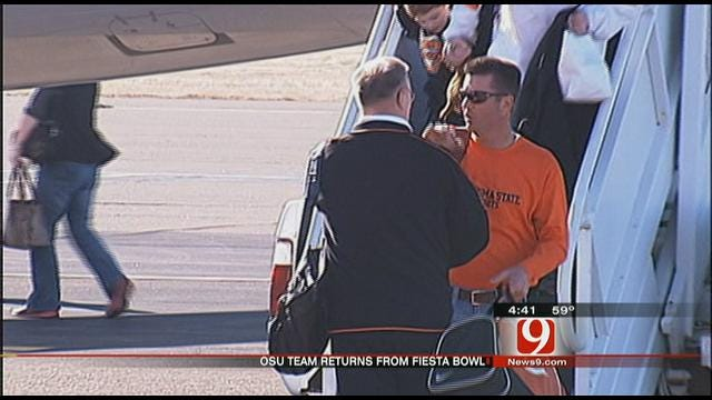 Oklahoma State Returns To Stillwater