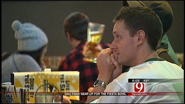 Metro OSU Fans Gear Up For Fiesta Bowl Game