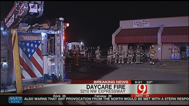 Oklahoma City DayCare Center Damaged By Fire