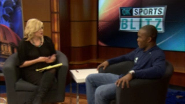 1-on-1 With Barry Sanders, Jr.