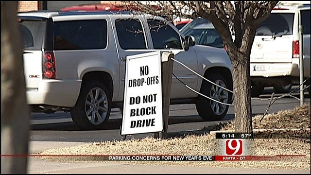 Parking A Problem In Downtown OKC On New Year's Eve