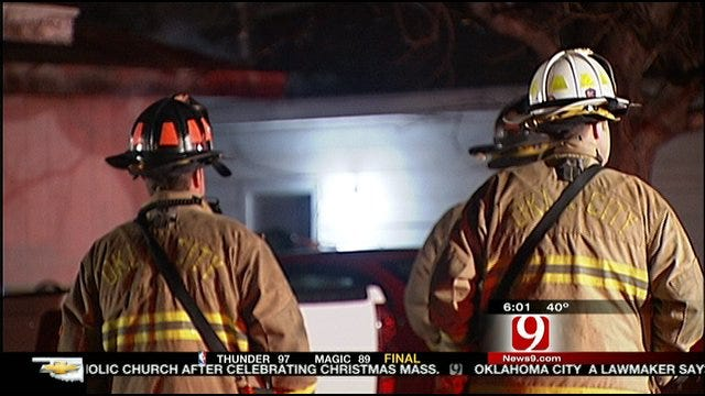 Space Heater Blamed For OKC House Fire