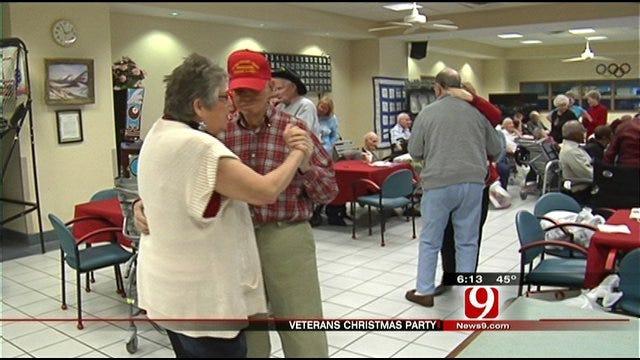 Christmas Spirit Alive At Veterans Center